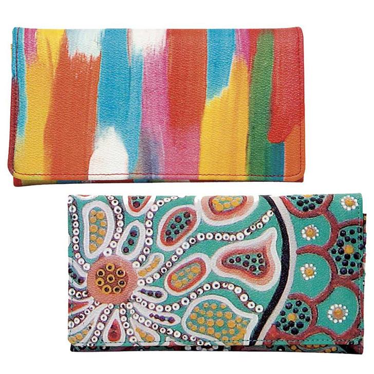 Great Size Wallet that Features Australian Indigenous Designs