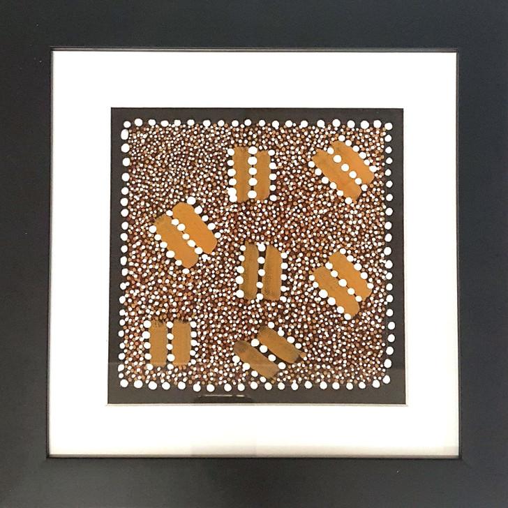 Original Framed Artwork by Trinity Bird Mpetyane