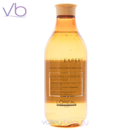 L'Oréal Serie Expert Nutrifier Shampoo | Silicone-Free Nourishing Cleanser