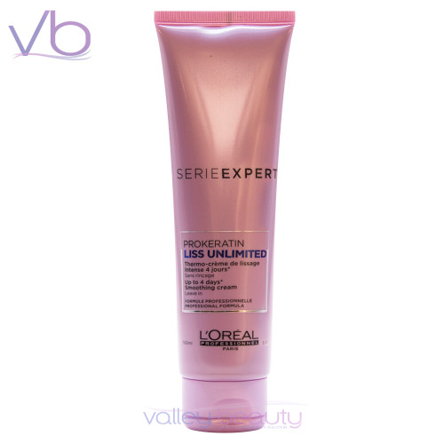 L'Oréal Serie Expert Liss Unlimited | Pro-Keratin Smoothing Leave-in Cream