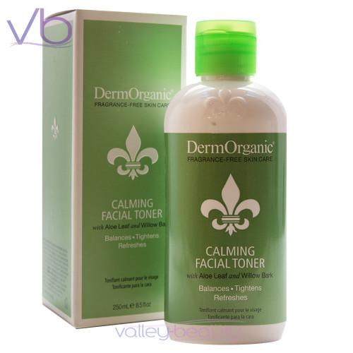 DermOrganic Oil-Free & Fragrance Free Facial Toner