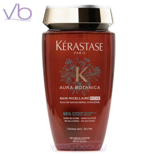 Kerastase Aura Botanica Bain Micellaire Riche,  Aromatic Shampoo for Dry Hair