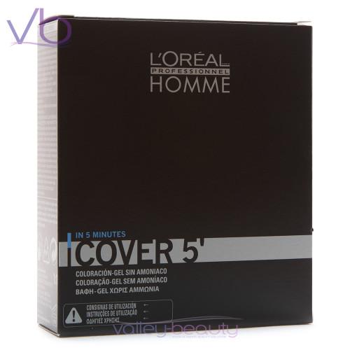 L'Oréal Homme Cover 5 | Amonia-Free Hair Color Gel