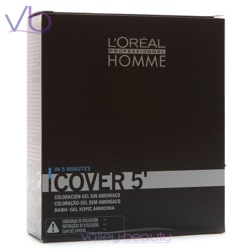 L'Oréal Homme Cover 5 | Amonia-Free Hair Color Gel