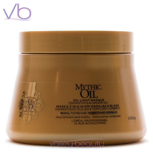 L'Oréal Mythic Oil Masque For Fine Hair | Nourishment and Vitality