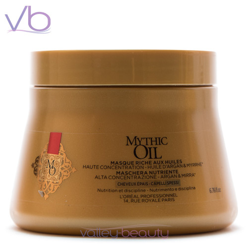 L'Oréal Mythic Oil Masque For Thick Hair | Nourishment and Discipline