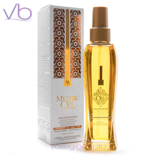 L'Oréal Mythic Oil Huile Richesse | Highly Concentrated Controlling Oil
