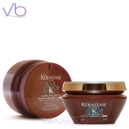 Kerastase Aura Botanica Masque Fondamental Riche | Deep nourishing mask for dry hair