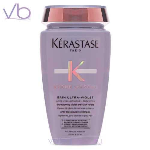 Kerastase Blond Absolu Bain Ultra-Violet | Anti-Brass Purple Shampoo