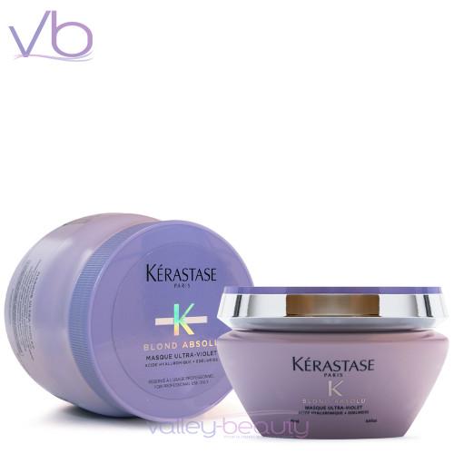 Kerastase Blond Absolu Masque Ultra-Violet | Anti-Brass Purple Masque