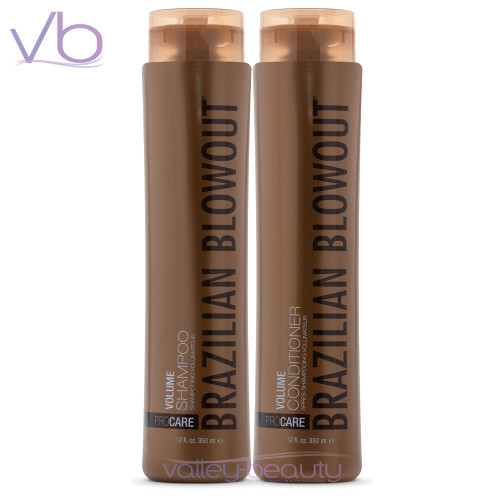 Brazilian Blowout Volume Shampoo + Conditioner Set