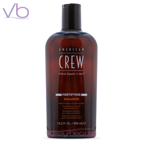 American Crew Fortifying Shampoo | Daily Cleanser For Thinning Hair