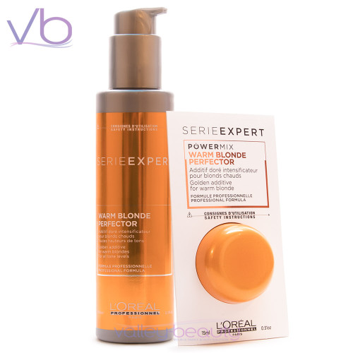 L'Oréal Blondifier Warm Blonde Perfector   Golden Additive for All Tone Levels of Warm Blond