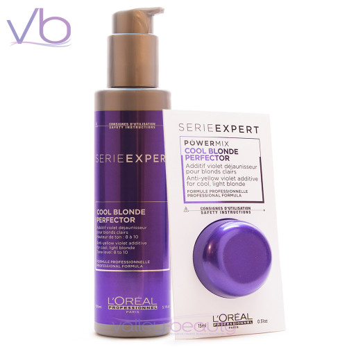 L'Oréal Blondifier Cool Blonde Perfector   Anti-Yellow Violet Additive for Cool Light Blonde with Tone Level 8 to 10