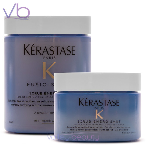 Kerastase Fusio Scrub Energisant | Intensely Purifying Cleanser with Sea Salt