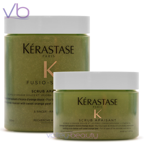 Kerastase Fusio Scrub Apaisant | Soothing Cleanser with Sweet Orange Peel