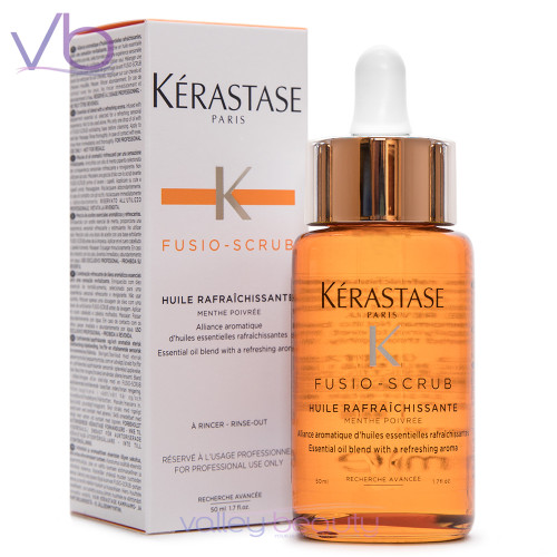 Kerastase Fusio Scrub Huile Rafraichissante | Refreshing Oil with Peppermint