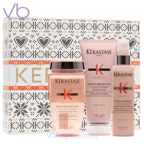 Kerastase Genesis Holiday Box Set | Anti Hair-Fall Ritual for Women