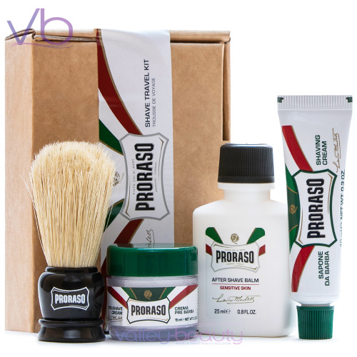 Proraso Travel Shaving Kit for Men