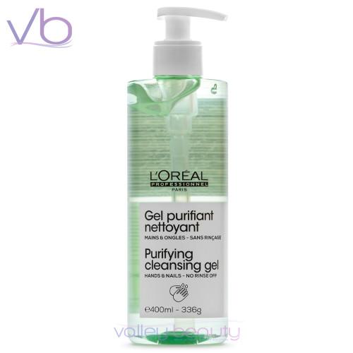 L'Oréal Professionnel Gel Purifiant Nettoyant | Hands & Nails Sanitizer
