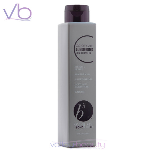Brazilian B3 Color Care Conditioner | Moisture-Rich Treat for Color Treated Hair