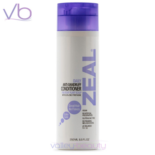 Dermorganic Zeal Anti-Dandruff Conditioner | Treats Seborrheic Dermatitis