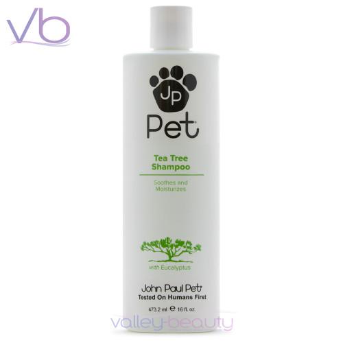 John Paul Pet Tea Tree Shampoo | Soothes And Moisturizes Pets Coat and Skin