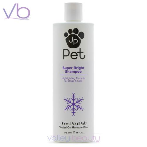 John Paul Pet Super Bright Shampoo | Highlighting Formula for Dogs & Cats