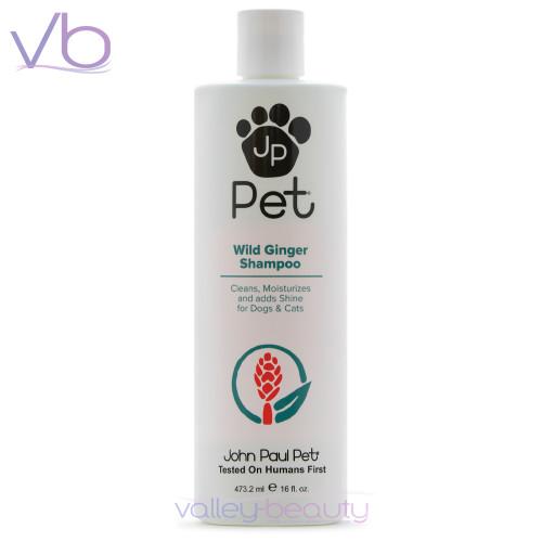 John Paul Pet Wild Ginger Shampoo | Moisture & Shine for Cats and Dogs