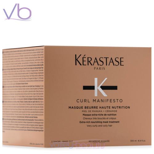 Kerastase Curl Manifesto Masque Beurre Haute Nutrition | Nourishing Mask Treatment for Curly Hair