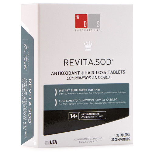Ds Laboratories Revita.SOD Tablets | Antioxidant + Hair Loss Tablets