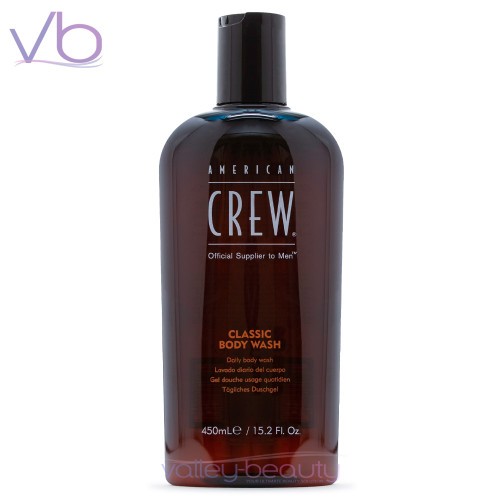 American Crew Classic Body Wash | Premium Cleanser With Masculine Fragrance