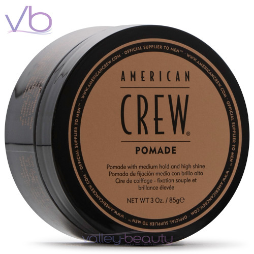 American Crew Pomade | Medium Hold and High Shine