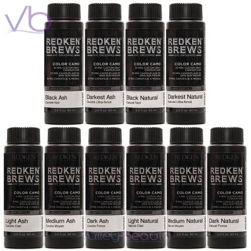Redken Brews For Men Color Camo | Custom Grey Camauflage