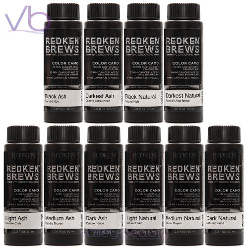 Redken Brews For Men Color Camo | Custom Grey Camauflage
