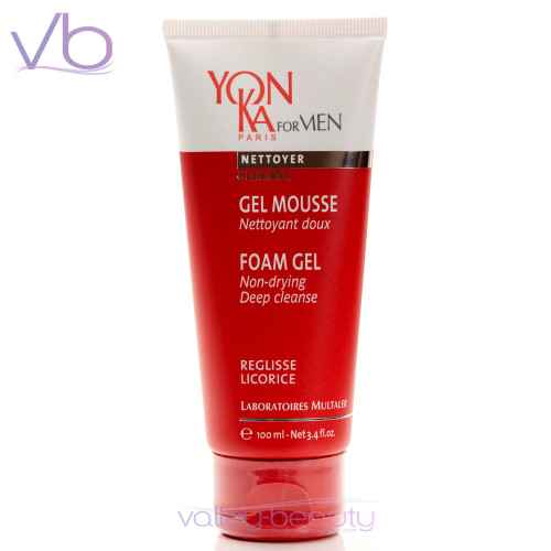 Yonka For Men Gel Mousse | Deep Cleansing Non-drying Foam