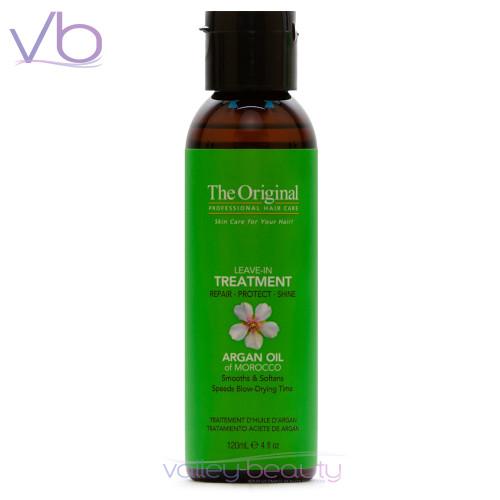 Dermorganic Leave-In Treatment | Certified Moroccan Organic Argan Oil