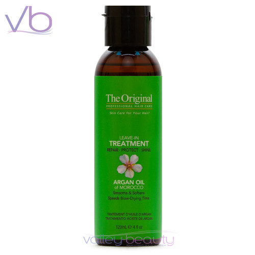 Dermorganic Leave-In Treatment | Certified Moroccan Organic Argan Oil