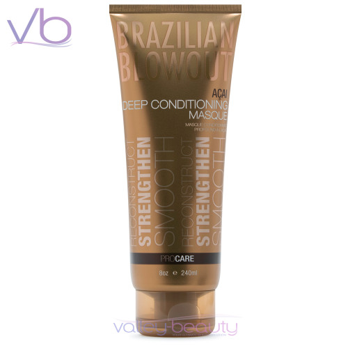 Brazilian Blowout Acai Deep Conditioning Masque | Intense Smoothing Conditioner