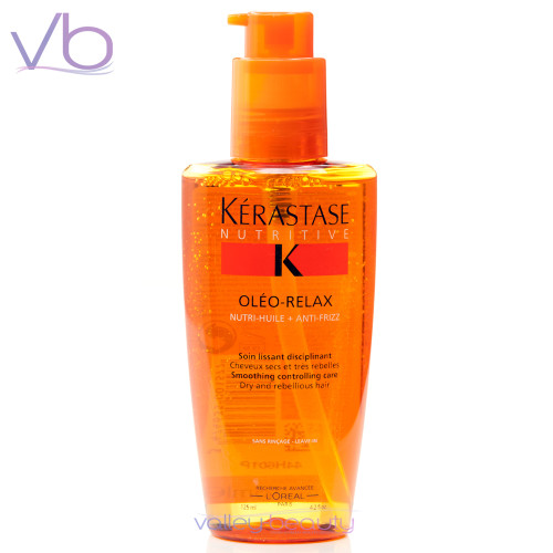 Leave-In Smoothing Serum for Dry, Rebellious Hair