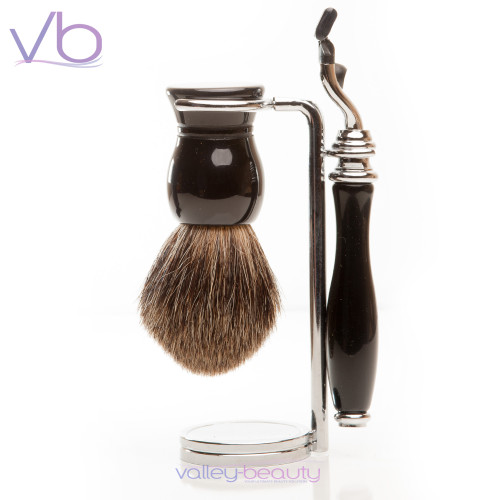 Black 360 Shaving Set