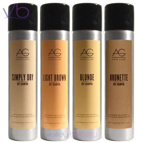 AG Hair Care Dry Shampoo | Style Refresher For All Hair Types