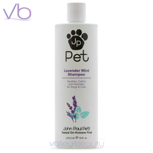 John Paul Pet Lavender Mint Shampoo   Soothes, Calms and Hydrates