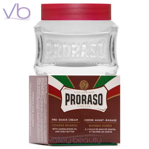 Proraso Crema Pre Barba Barbes Dures | Preshave Cream for Thick Beards