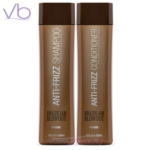 Brazilian Blowout Anti-Frizz Shampoo + Conditioner Duo