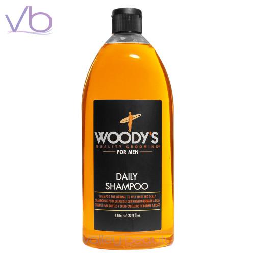 Woody's Paraben Free Daily Shampoo Retail Size