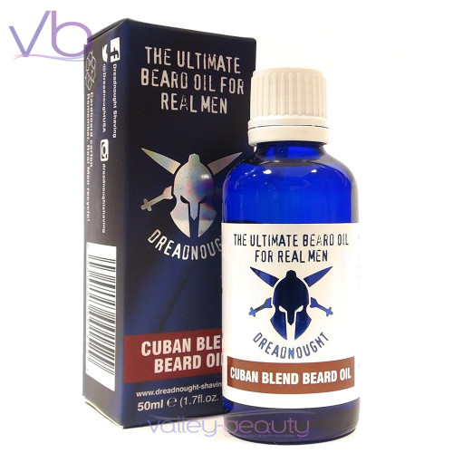 Dreadnought Beard Oil Cuban Blend