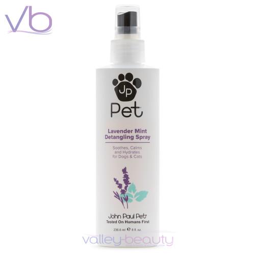 John Paul Pet Lavender Mint Detangling Spray | Instant Hydration