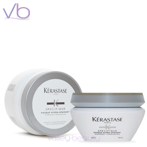 Kerastase  Masque Hydra-Apaisant |  Silicone-Free Mask to Treat Scalp Discomforts