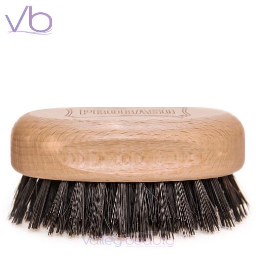 Proraso Beard and Mustache Brush | Elegant , Wooden Military Style